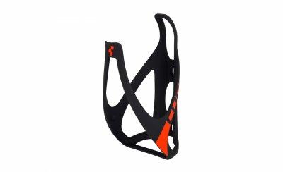 Cube košík HPP mat.černá/červená